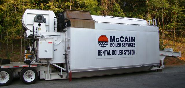 Mccain Engineering Boiler Rental Systems