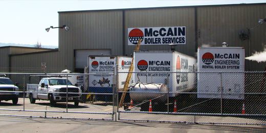 Mccain Engineering Boiler Rental Systems